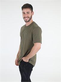 חולצה קלווין קליין ירוקה לגברים