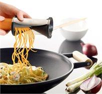 מוספים יצירתיות למטבח! קוצץ ספירלה לעיצוב ירקות ליצירת עיטורים אכילים במגוון צורות