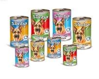 שימורים לכלב סימבה טעמים מגוונים 24 יחידות Simba