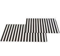 זוג שטיחים לבית ומרפסת עשויים PVC במבחר גדלים ודוגמאות לבחירה - משלוח חינם