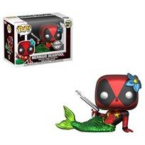 Funko Pop - Mermaid Deadpool Exclusive (Deadpool) 321  בובת פופ