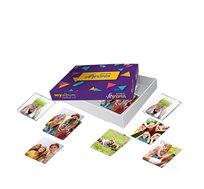 משחק הזיכרון - 34 זוגות של כרטיסיות בעיצוב אישי
