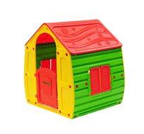בית משחק מעוצב וצבעוני לילדים כולל חלונות ודלת כניסה Starplast