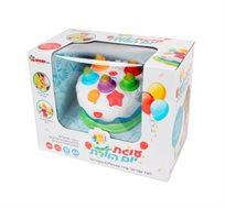עוגת יום הולדת לילדים עם 5 שירי יום הולדת - Spark toys