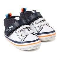 BOSS / בוס נעלי תינוקות (מידה 16-20) - כחול לבן