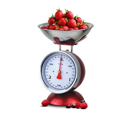 משקל מטבח רטרו