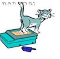 ציוד לארגז חול לחתול - ניילון 12 יחידות