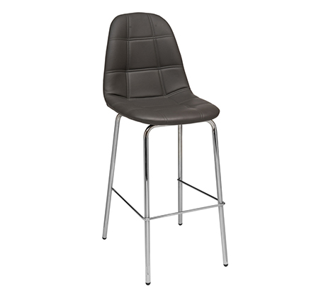 כסא בר למטבח בריפוד סקאי דגם נועם במבחר גוונים לבחירה