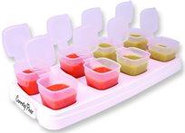 baby cubes קוביות אחסון נפרדות 70ml לאחסון מזון תינוקות