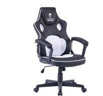 כסא גיימינג COMBAT בצבע לבן DRAGON  דגם GPDRC-COMBAT-W
