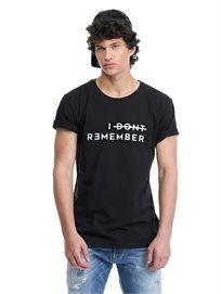 חולצת טי לבנה לגברים - Sorry I Don't Remember