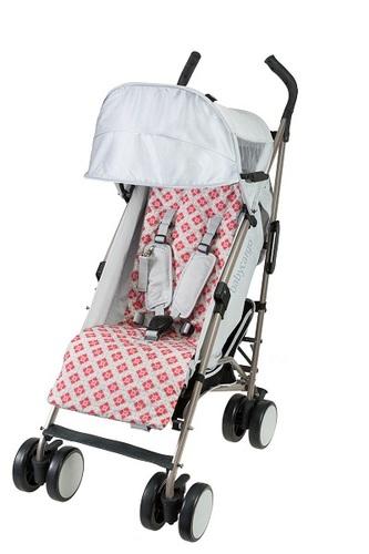 טיולון Baby Cargo - מתאים גם לילדים גדולים וגבוהים - צבע אפור Smoke