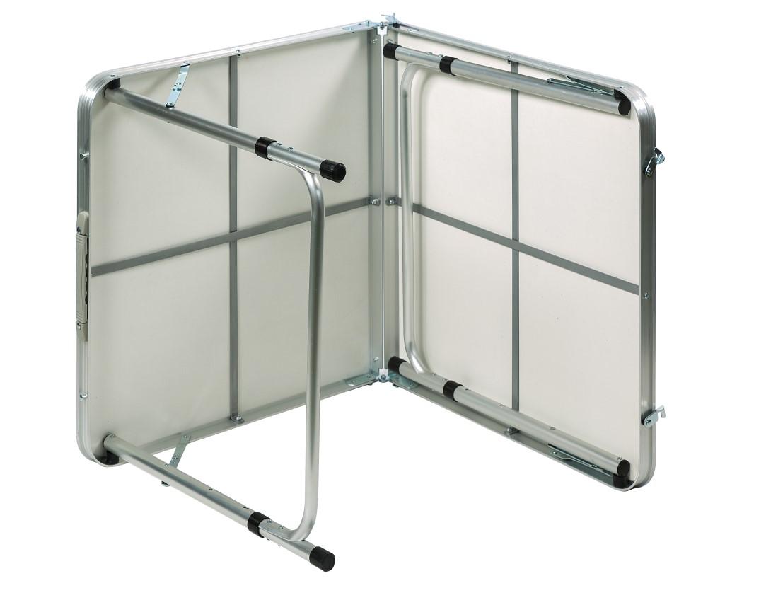 שולחן קמפינג ממתכת ומסגרת אלומיניום איכותי מתקפל למזוודה + ידית נשיאה Australia Camp  - תמונה 5