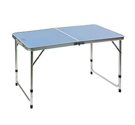 שולחן קמפינג ממתכת ומסגרת אלומיניום איכותי מתקפל למזוודה + ידית נשיאה Australia Camp  - תמונה 2