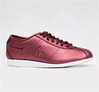 נעלי סניקרס LE COQ SPORTIF WENDON W PEARLIZED לנשים בצבע אדום יין
