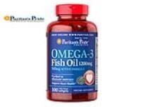 6 בקבוקים של Omega-3 360 mg Fish Oil 1200 mg כמות של 100 קפסולות ג'ל בכל קופסא