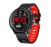 שעון ספורט חכם Bluetooth עם מסך OLED אטום למים עם מד דופק ,מד לחץ דם ,מד צעדים