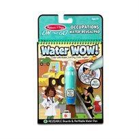 חוברת טוש המים מקצועות - Melissa & Doug