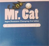 2 סופרחול Mr. Cat בייבי ריחני 10 ק''ג