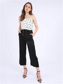 מכנסיים ארוכים דומיניק שחור סטייל ריבר