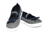 נעלי בלרינה OVS נוצצות לילדות - כסוף/כחול