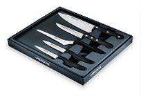 סט 5 סכינים כולל סכין שף+סכין מטבח+סכין ירקות מדורגת+סכין ירקות משוננת+סכין ירקות חלקה מבית ARCOS