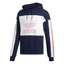 Adidas גברים // Outline Hoody Navy/White