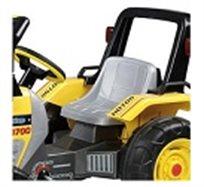 מפדלים על השופל! טרקטור שופל Excavator Maxi עם פדלים מבית Peg Perego, עם שליטה על הכף ממושב הנהג