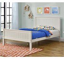 מיטת נוער מעץ מלא דגם LINOR