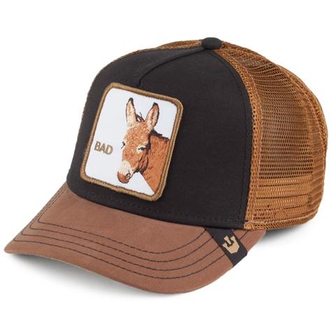 כובע מצחייה יוניסקס - Goorin Bad Ass Black