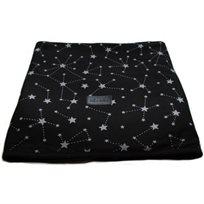 Baby Mitmit שמיכת קיץ ענקית למיטת תינוק- Galaxy Collection- שחור