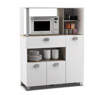 ארון שירות למטבח עם תא למיקרוגל דגם BAZILIK