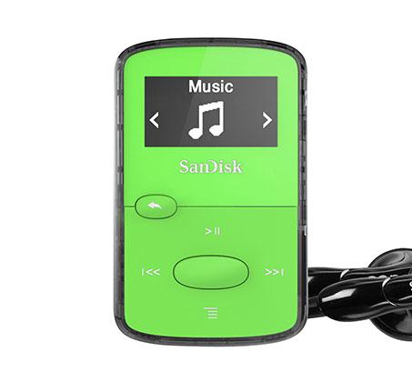 נגן SanDisk Clip Jam MP3 בנפח 8GB עם אחריות לשנתיים SanDisk  - תמונה 3