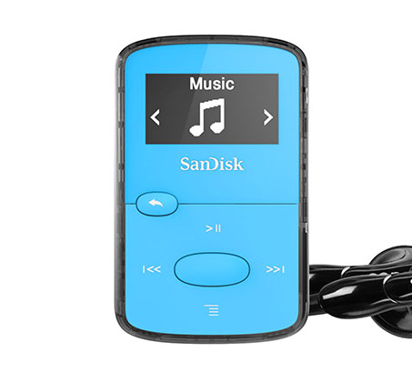 נגן Clip Jam SanDisk MP3 בנפח 8GB