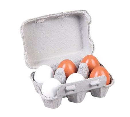 צעצוע תבנית ביצים מעץ לילדים BGIFTS