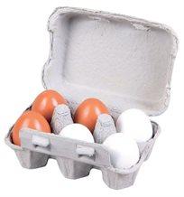 תבנית ביצים עץ