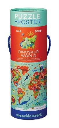פאזל גליל 200 - עולם הדינוזאורים