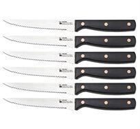 סט 6 סכיני סטייק חזקים ואיכותיים מסדרת פנדורה BERGNER