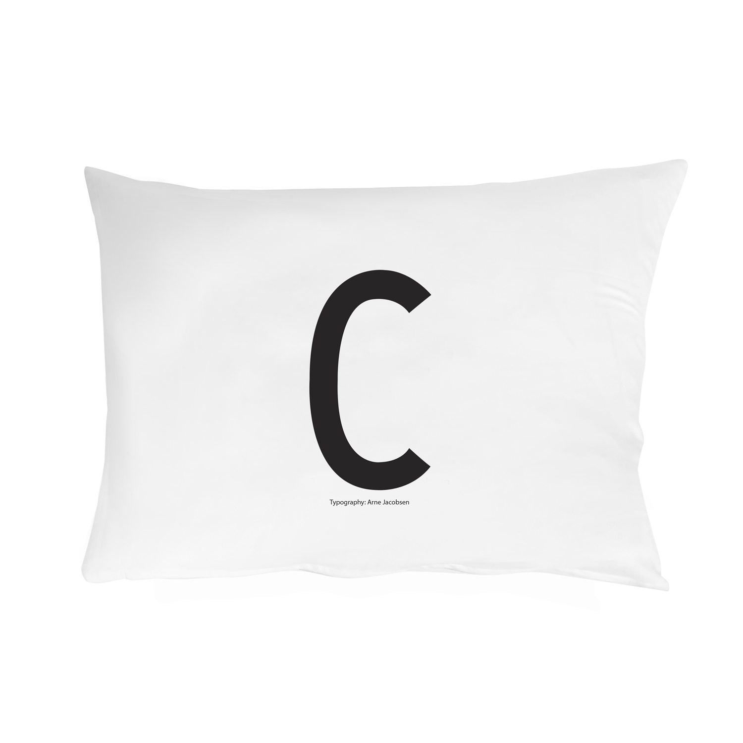 Design Letters// Pillowcase With Personal Letter C