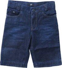 BOSS / בוס מכנס קצר(16-4שנים) גינס כהה