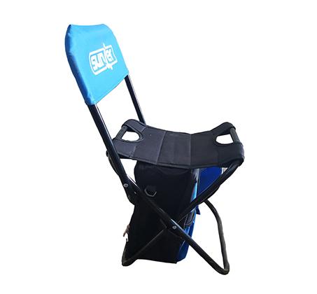 זוג כיסאות קמפינג לשטח ולים לילדים בשילוב ציידנית לשמירה על האוכל והשתיה Sunjer - תמונה 2
