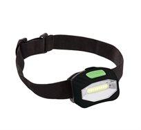 3 פנסי ראש בעלי רצועת ראש נוחה ומתכווננת CAMP&GO + מגן מסך נוזלי בטכנולוגיית NANO מתנה