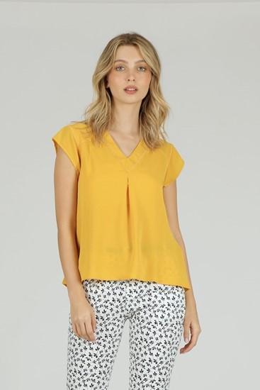 חולצה רומיני צהוב