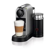 מבצע נספרסו! מכונת קפה Citiz & Milk בצבע כסף דגם C122 מבית Nespresso - משלוח חינם!