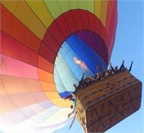 חוויה של פעם בחיים בכדור פורח! טיסה בכדור פורח בעמק יזרעאל עם אופציה לחבילת פינוקים