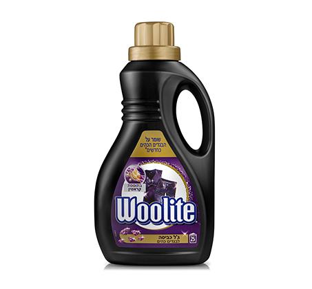 מארז 3 יחידות ג'ל לכביסה Woolite לבגדים כהים 3 ליטר