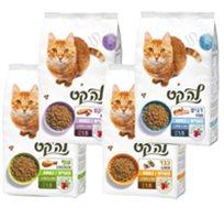 """מזון לחתול בוגר לה-קט 9 ק""""ג"""