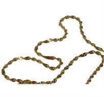 """שרשרת מציפוי זהב בגודל ONE SIZE דגם """"מורן"""""""