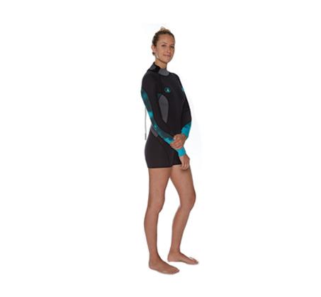 חליפת שורט גלישה לנשים STELLAR BODY GLOVE  - משלוח חינם  - תמונה 2