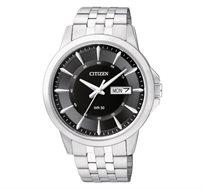 שעון Quartz מבית CITIZEN עשוי מפלדת אל-חלד ועמיד במים עד 50 מטר ב-2 צבעים לבחירה